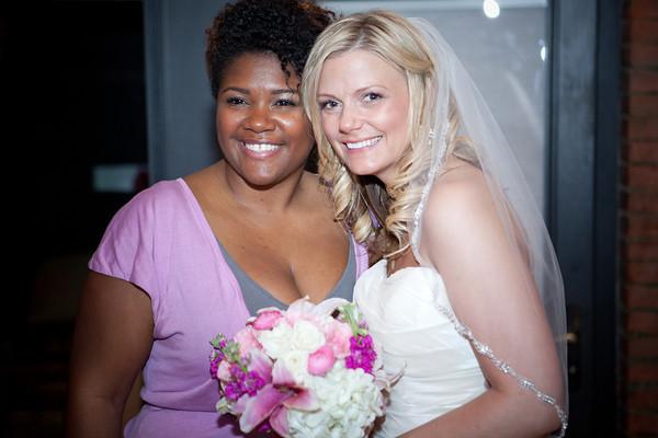 Bride and Wedding Coordinator (Me)